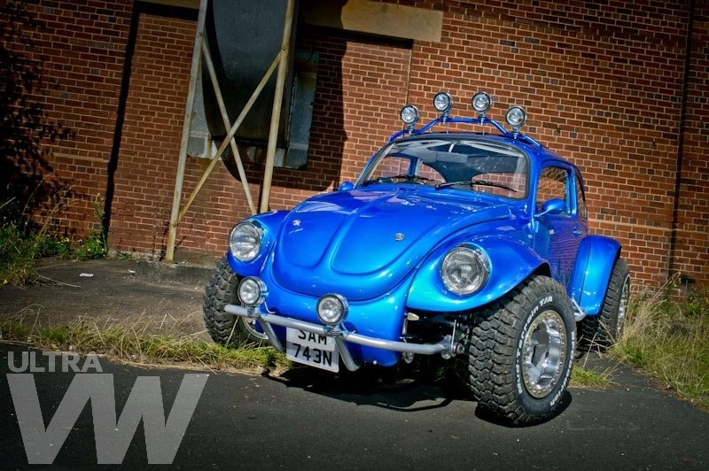 Baja Beetle - blue Beetle conversion