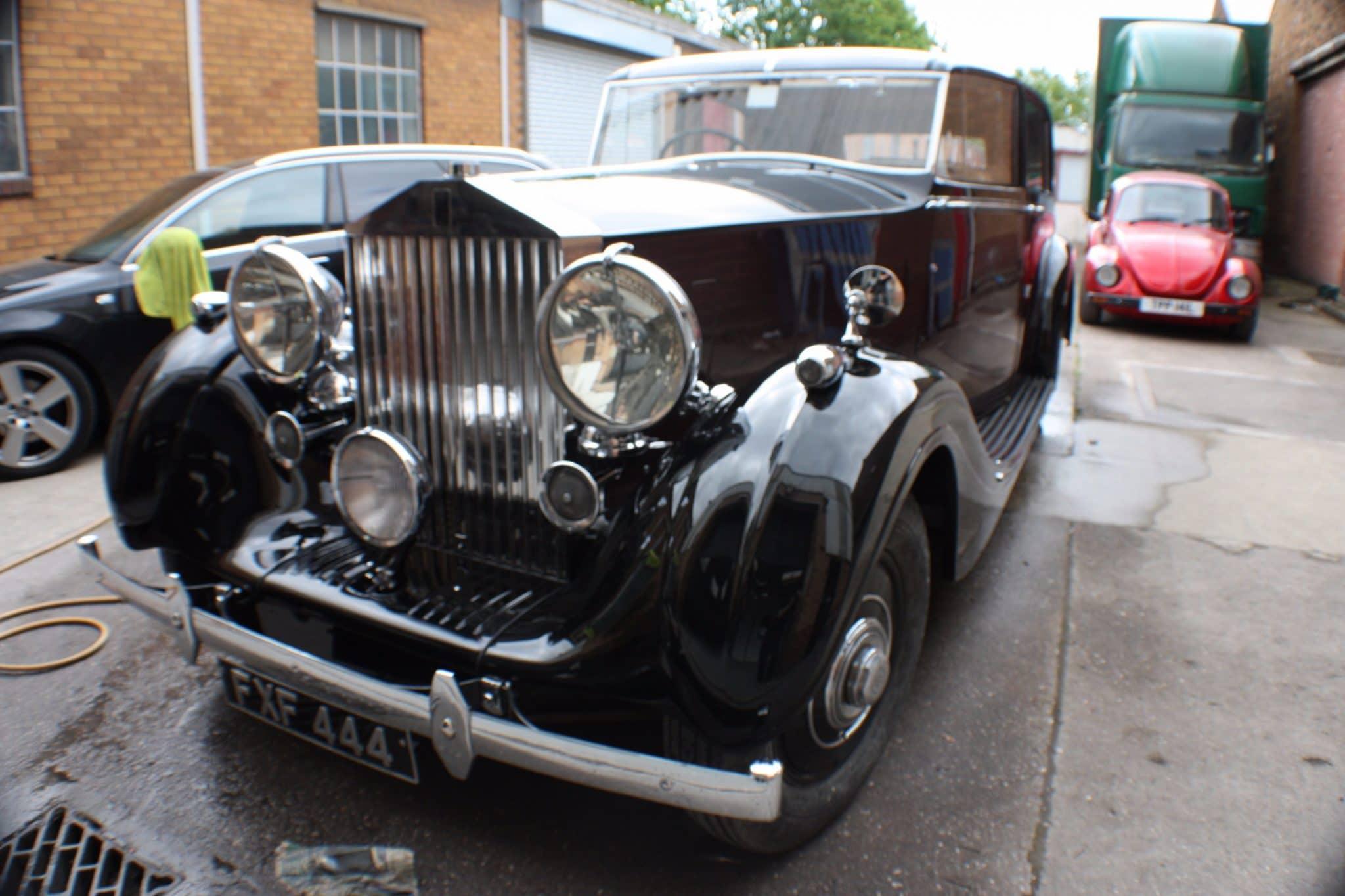 Rolls Royce restoration complete