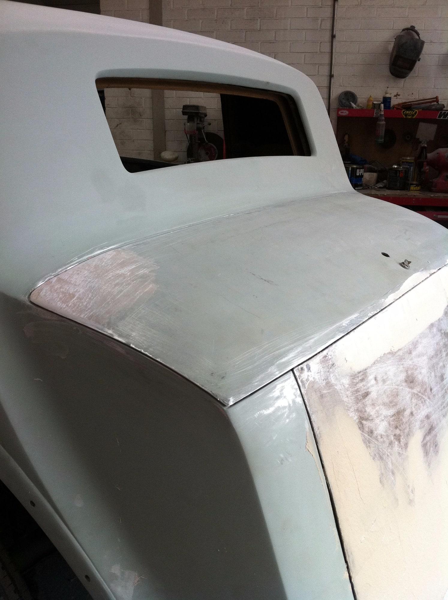 Rolls Royce stripped vehicle