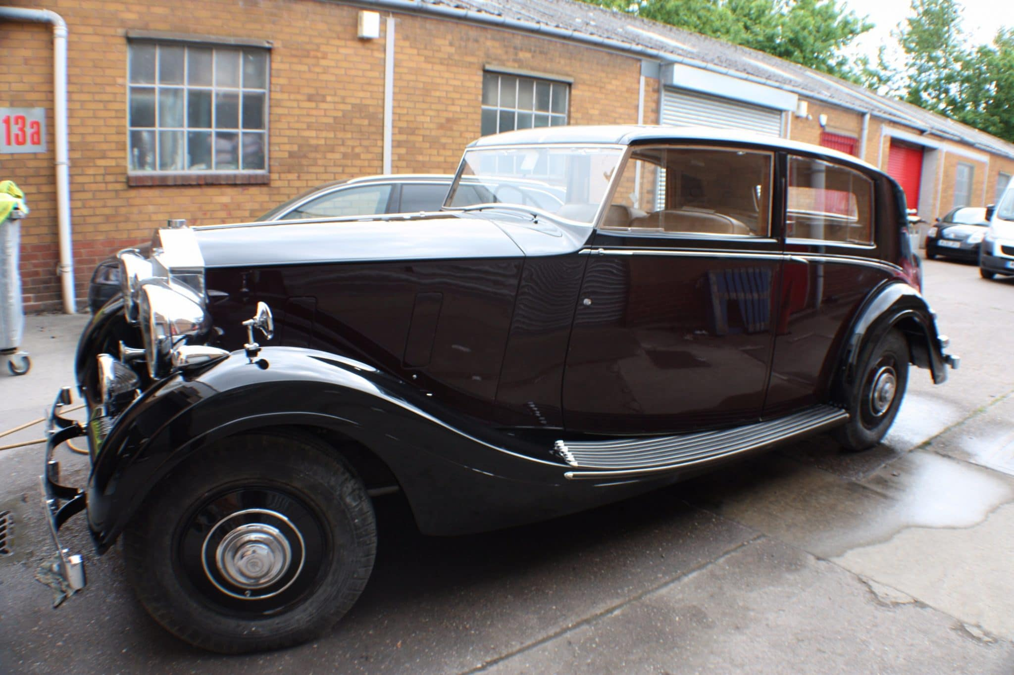 Rolls Royce finished product - after restoration