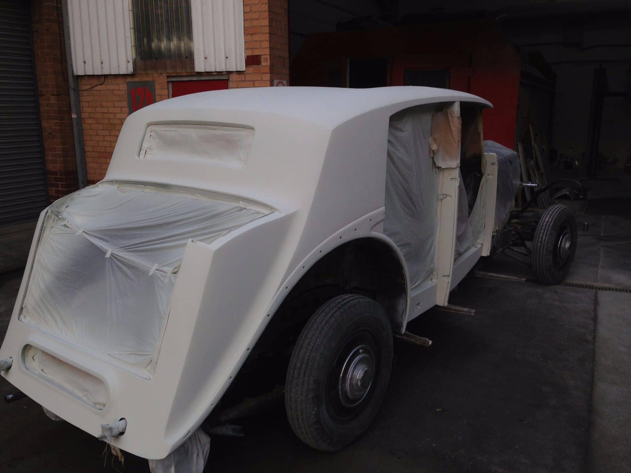 Rolls Royce wraith white undercoat