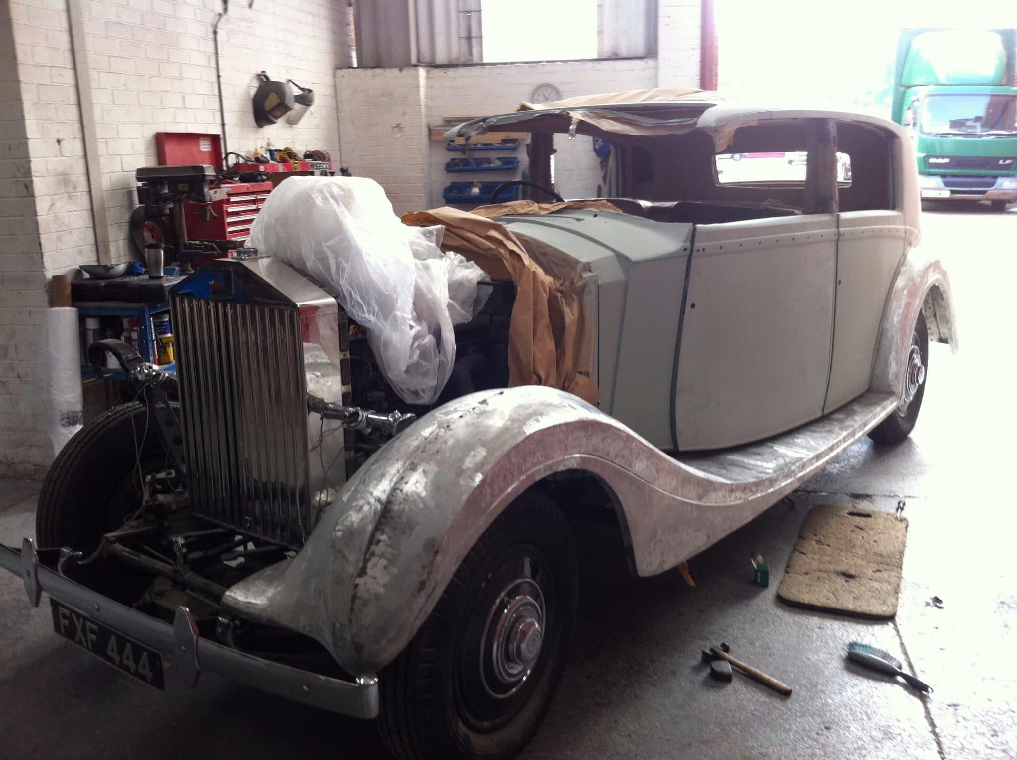 Rolls Royce pps in progress