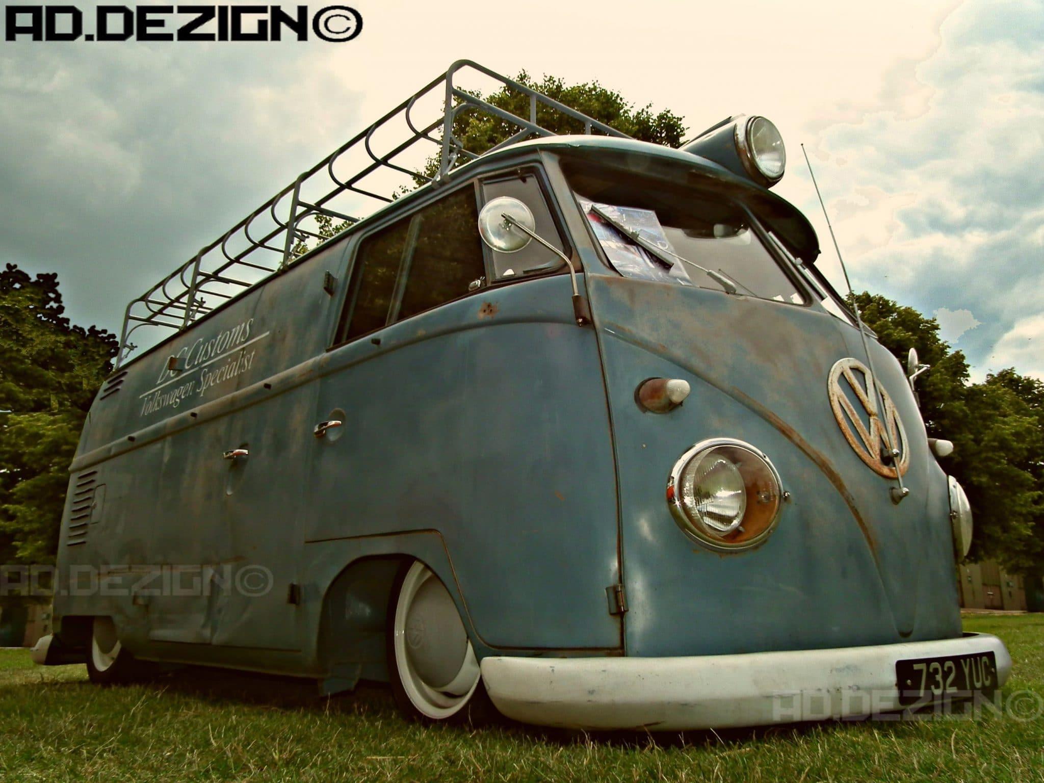 VW camper van ad.dezign image