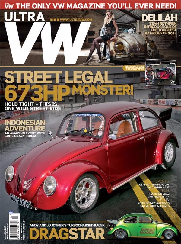 VW magazine - front cover