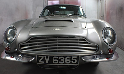Aston-Martin paint protection spray - silver