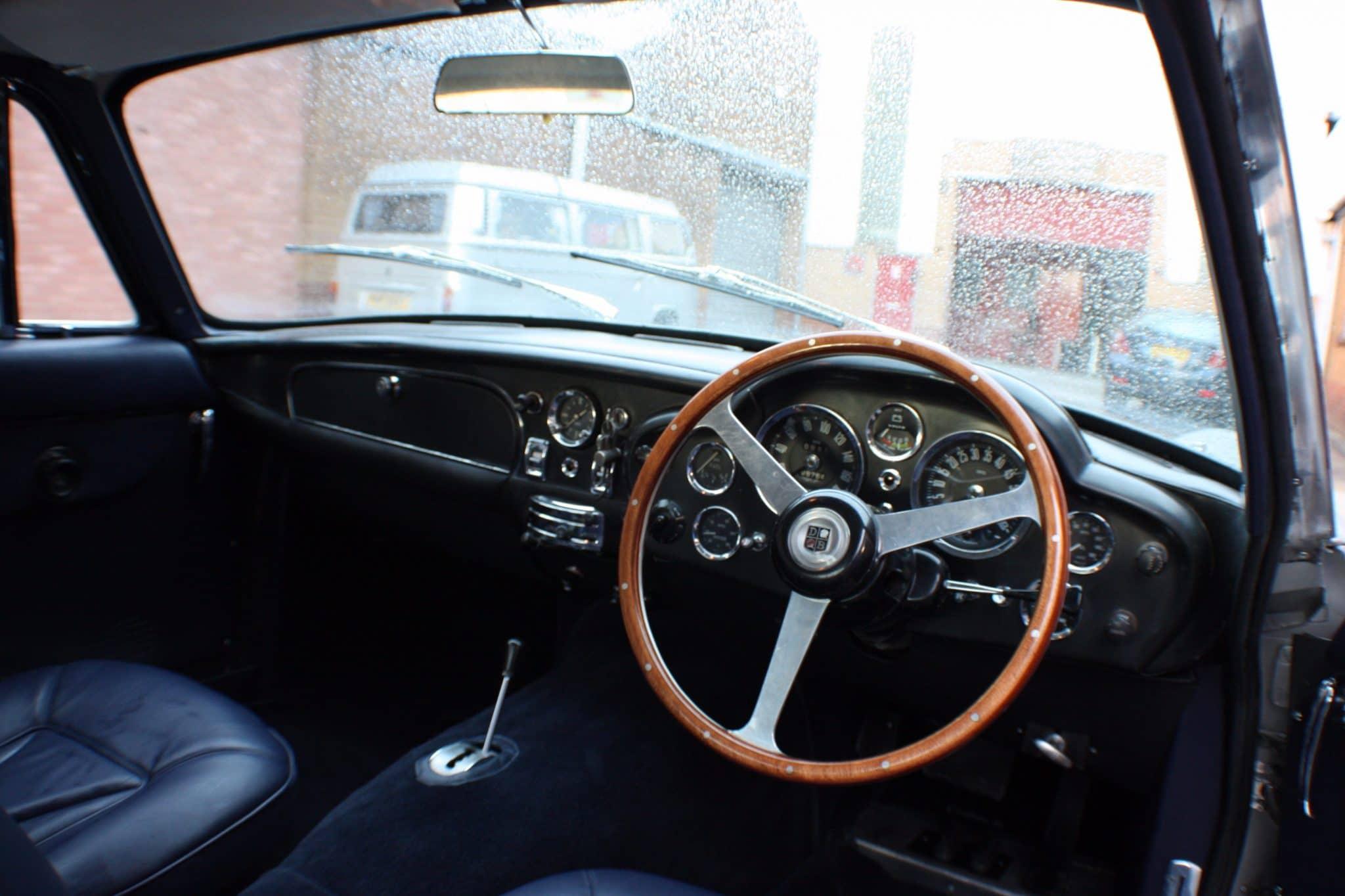 Aston Martin leather steering wheel