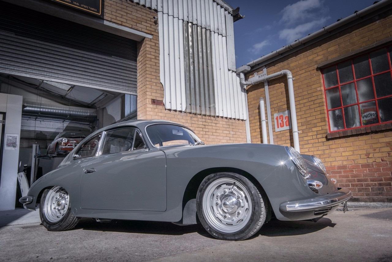 Porsche vintage car restoration