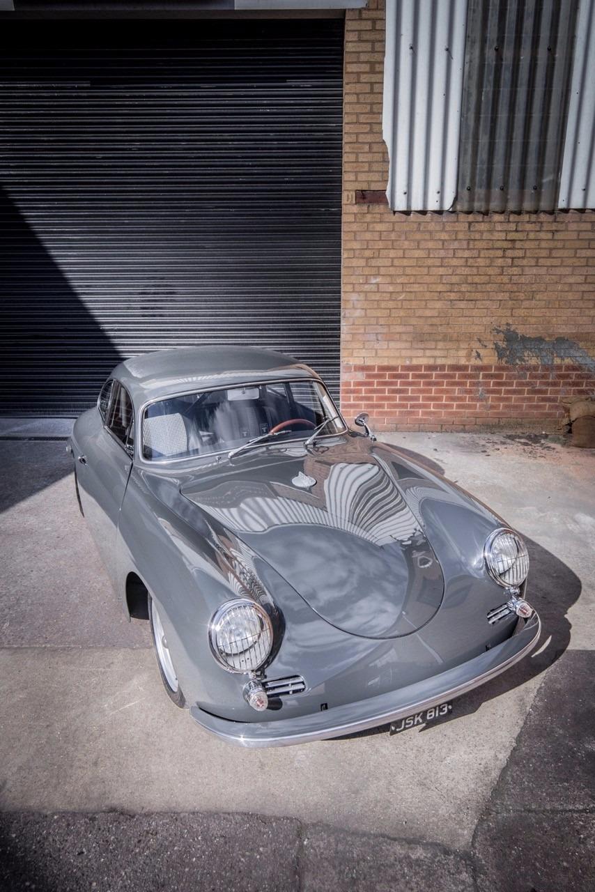 Grey Porsche restoration