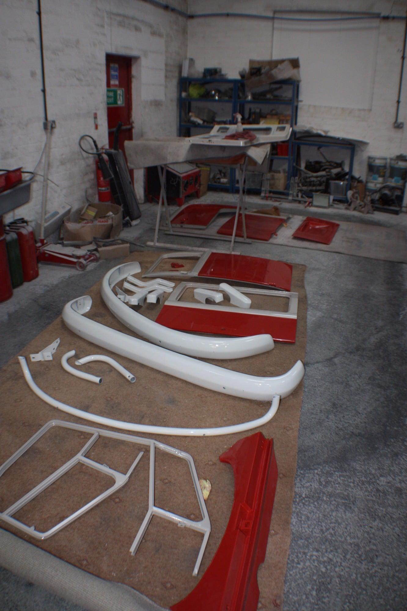 parts taken off for pps window splitty