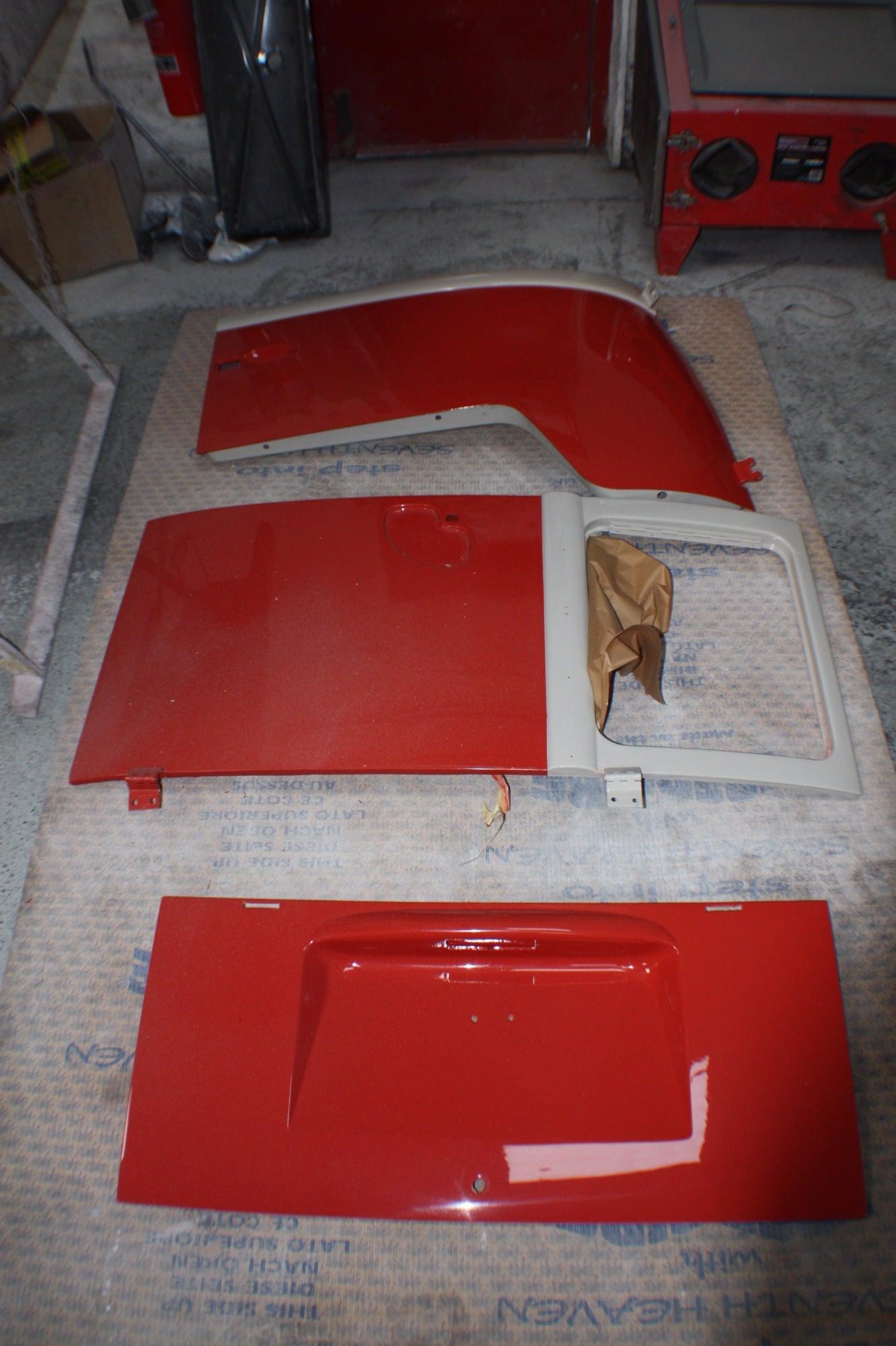 window splitty parts taken off for pps