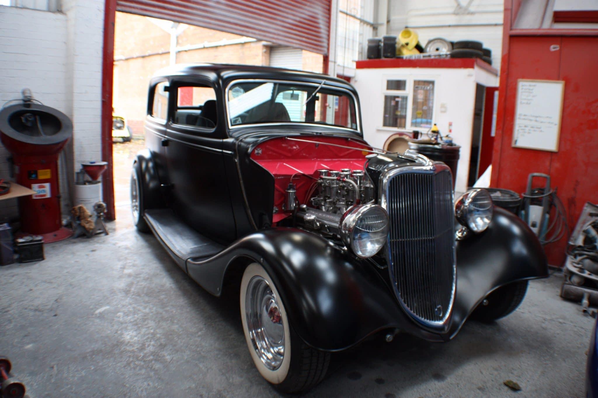 Rolls Royce engine exposed