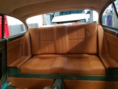 leather restoration brown seats