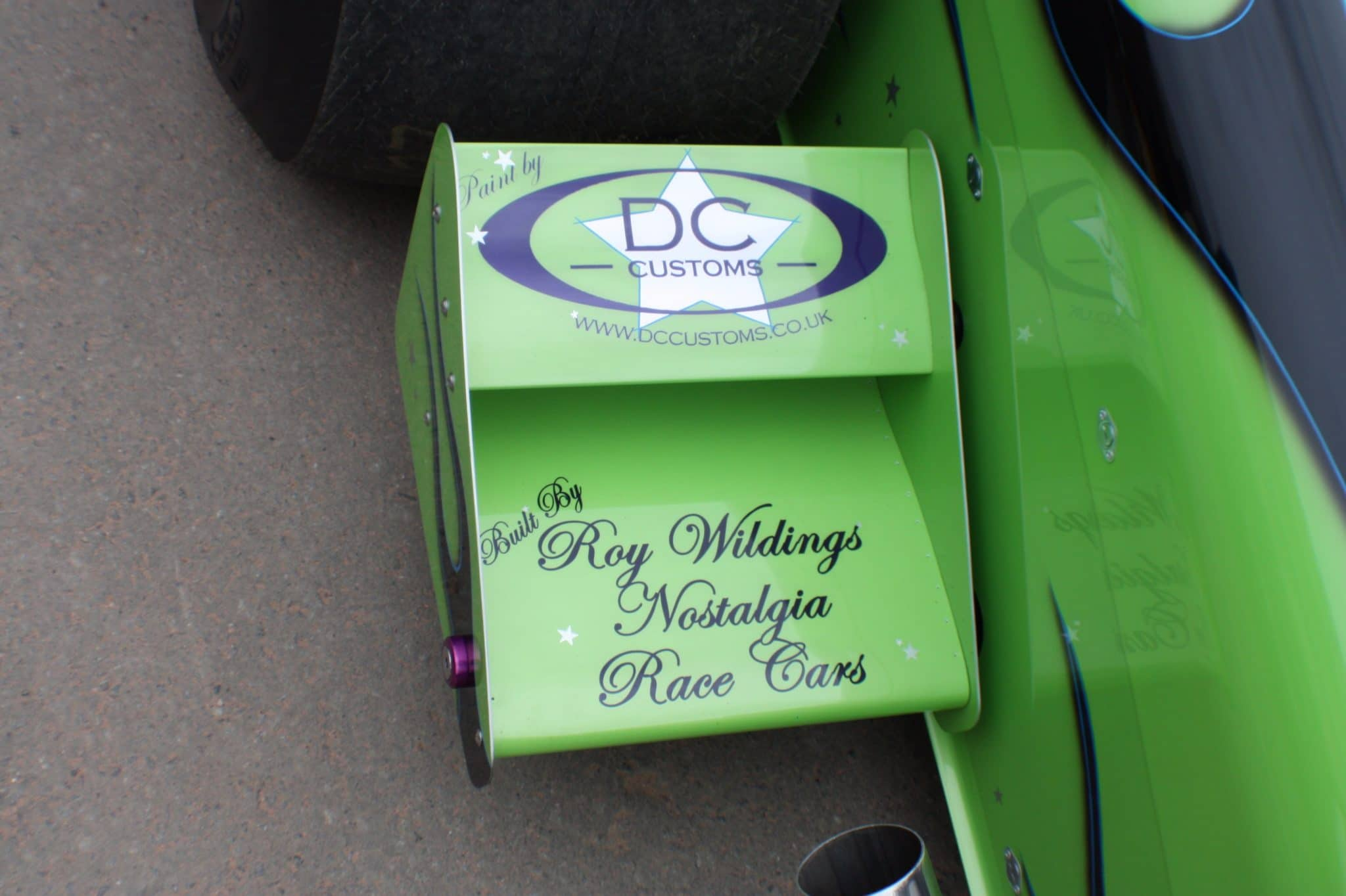 dragster side cart dc customs