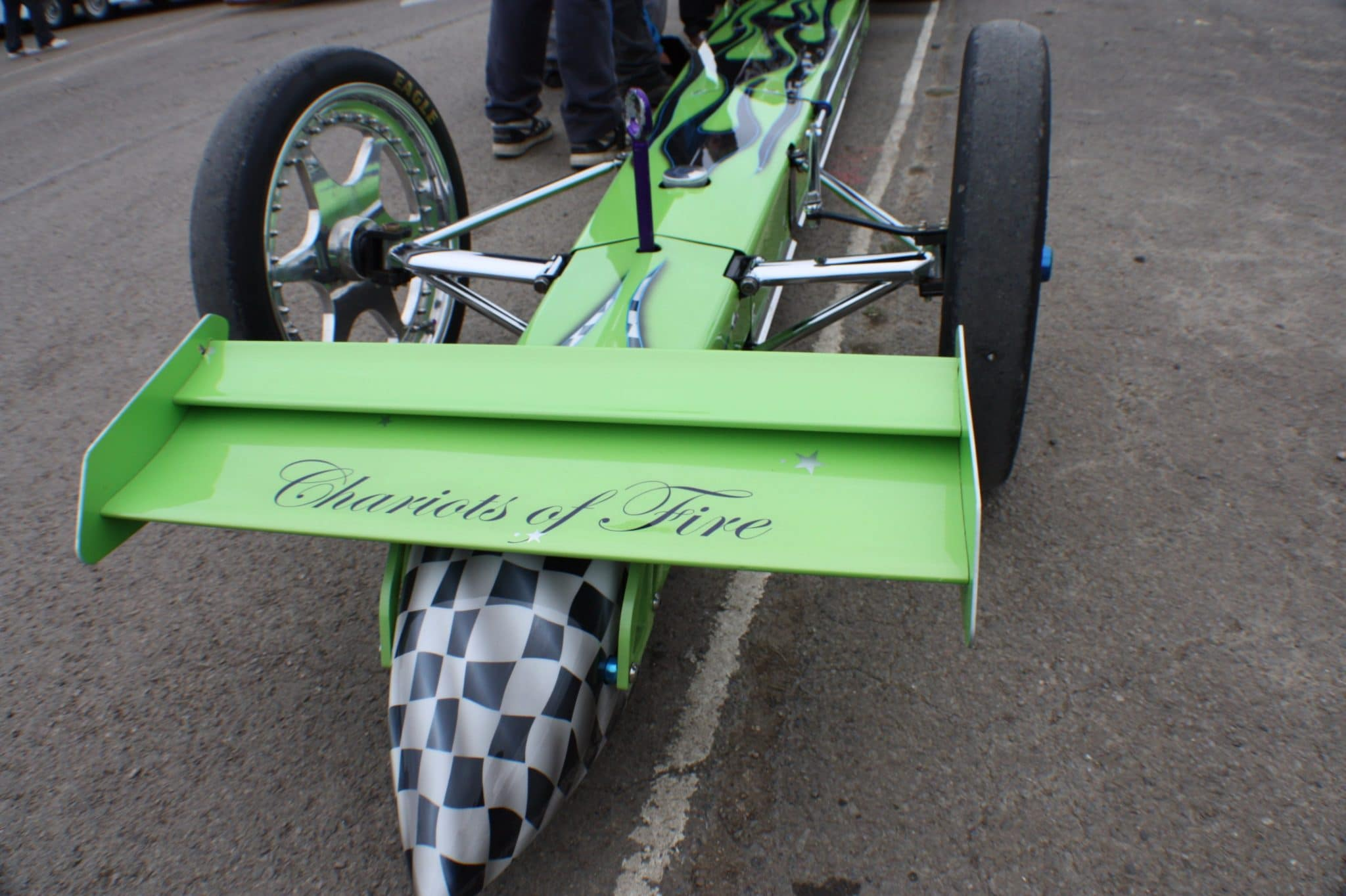 dragster front end