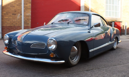 karmann front view