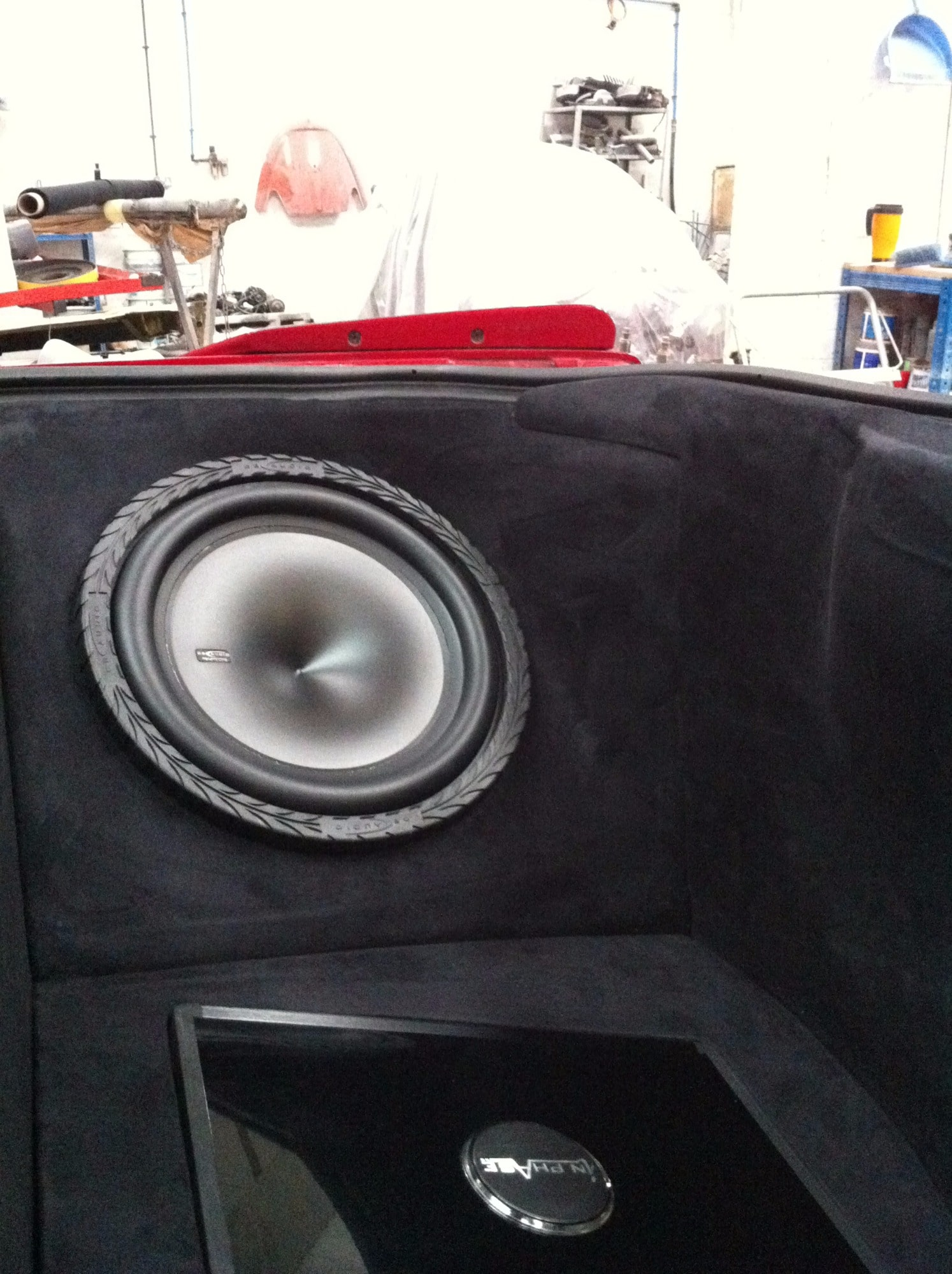 Mitsubishi Eclipse boot with built in speaker