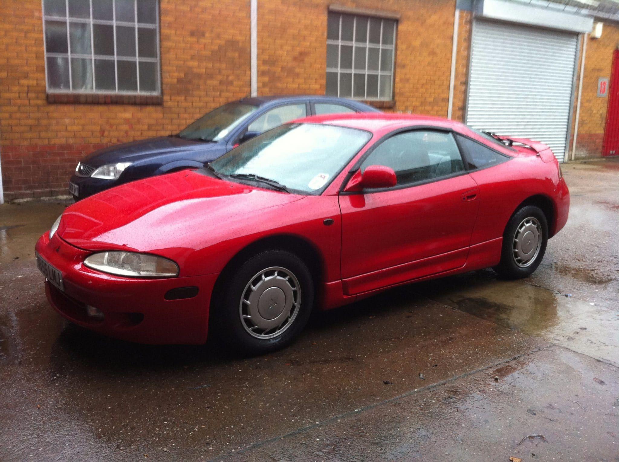 Mitsubishi Eclipse red