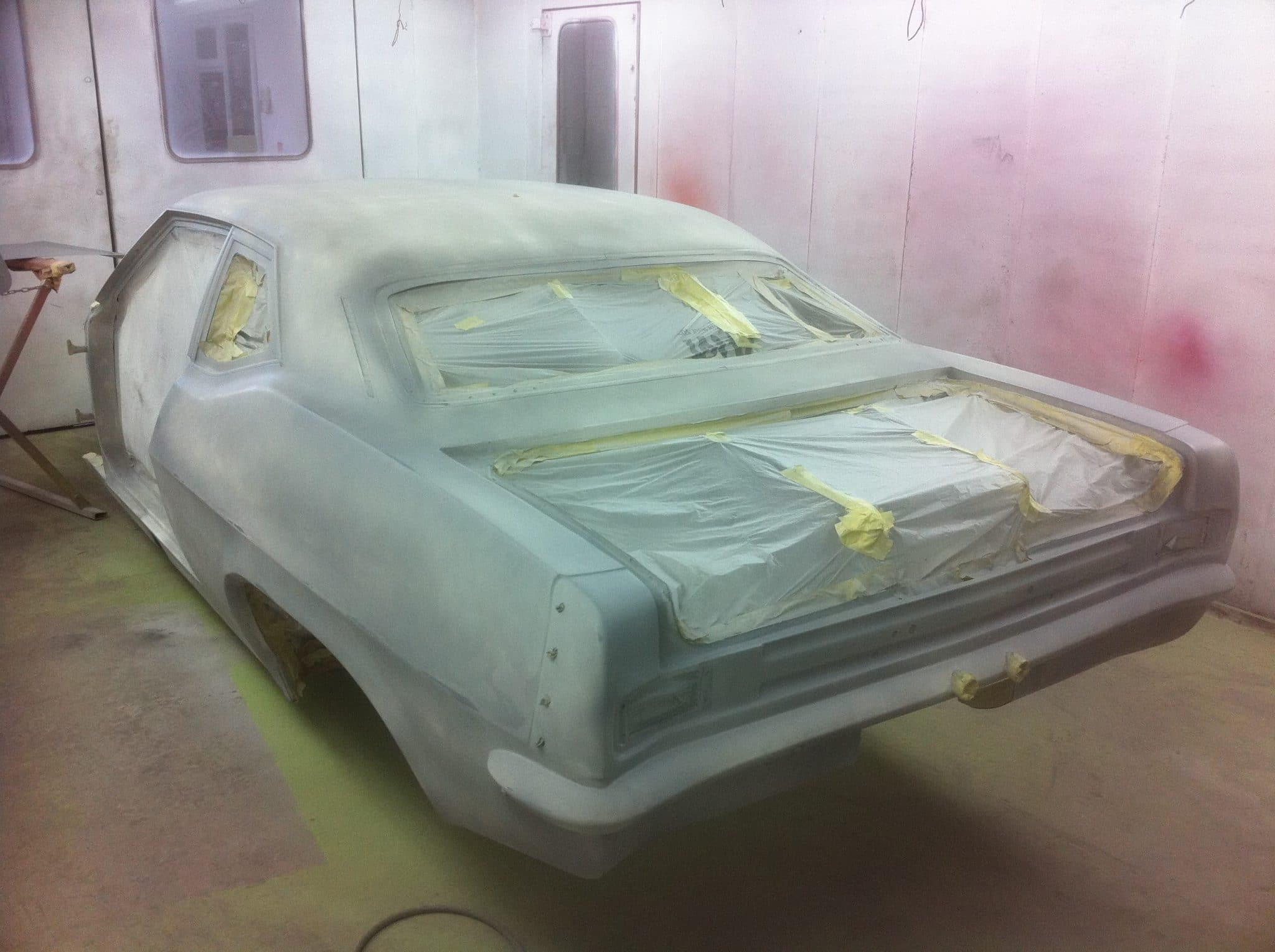 car stripped ready for ppf