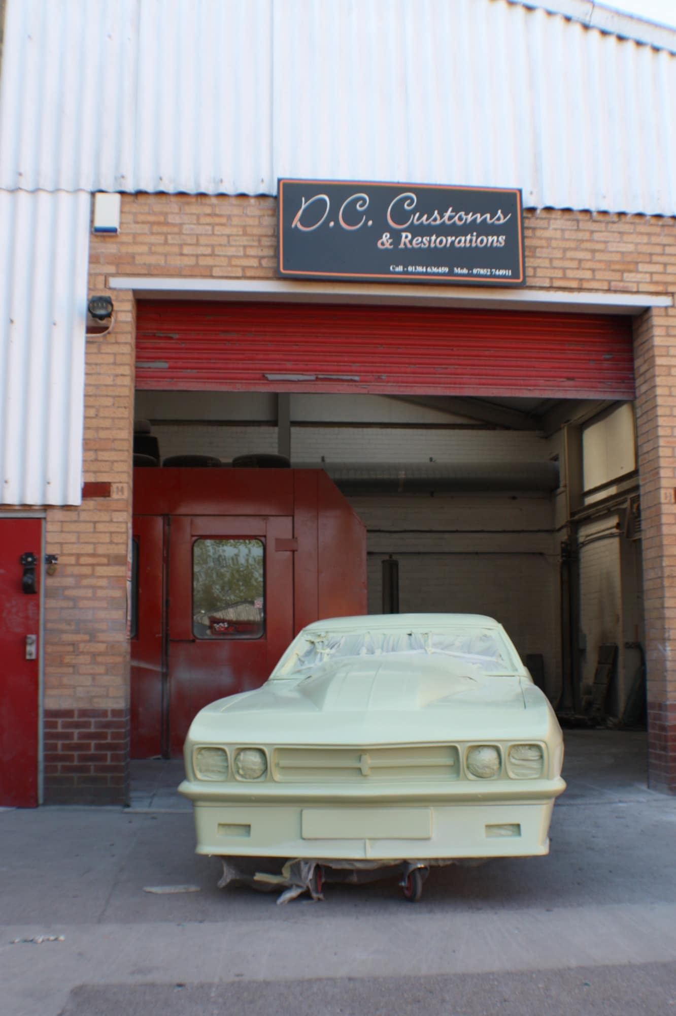 dc customs and restorations stripped back