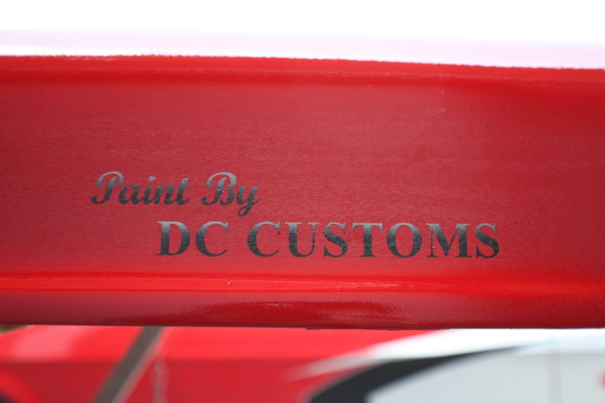 paint by dc customs logo