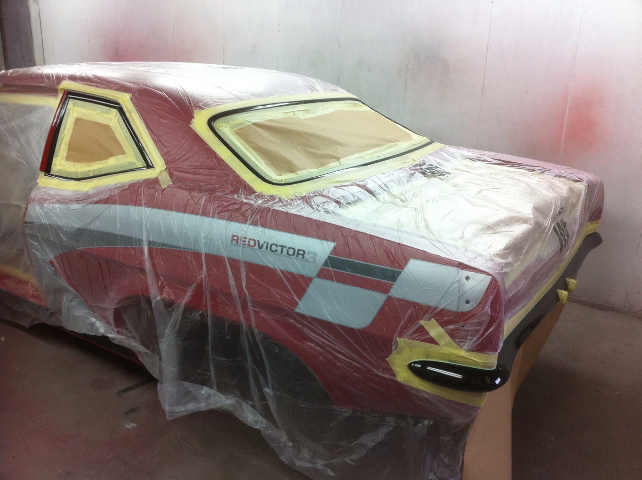 red victor 3 restoration in progress