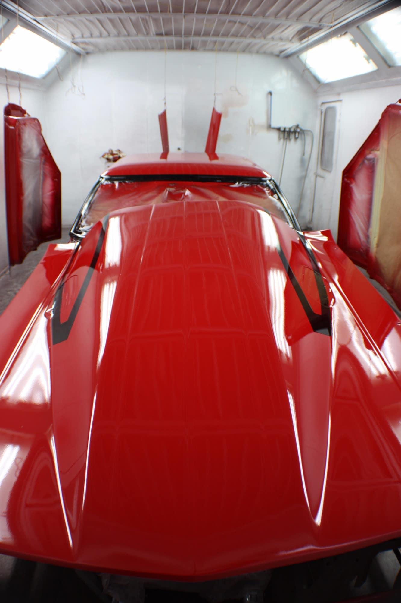 red victor 3 after restoration