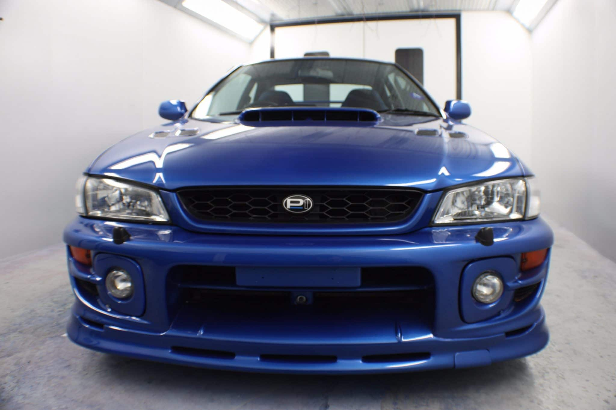 subaru close up of front grill