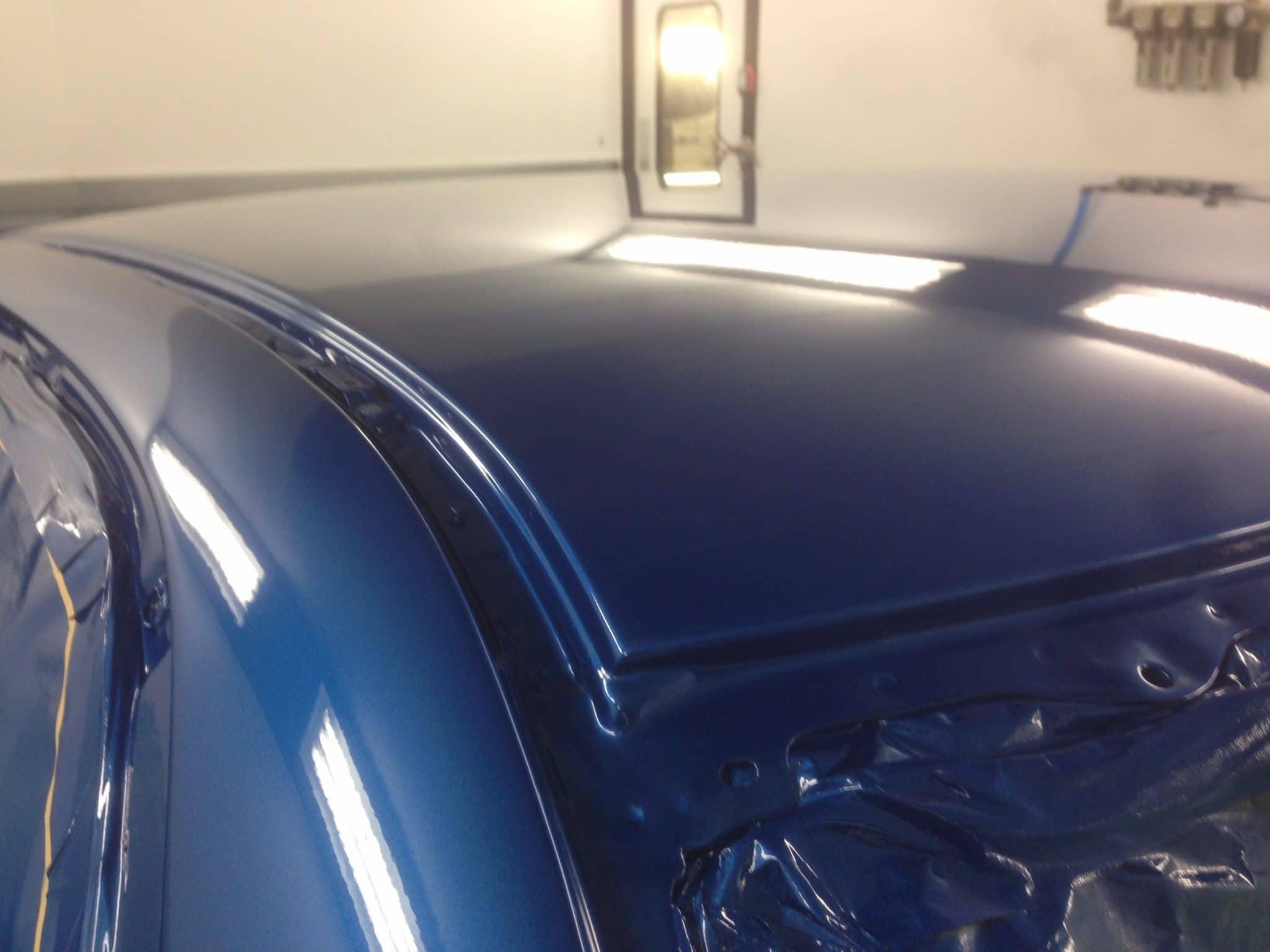 ppf blue wrap roof